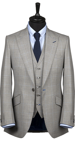 Geoff Souster grey suit